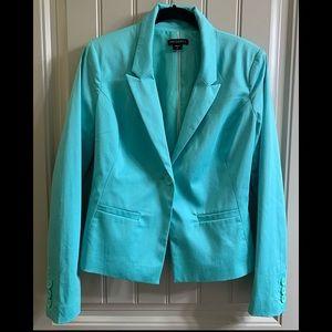 Tiffany blue color blazer